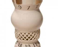 Naomi YasuiGlaze Test 2.16 x 18 in. Porcelain, slip, glaze. 2010