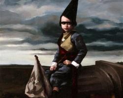Stephen Appleby-BarrDrummer Boy8 x 11 in. Oil on Linen.  2009