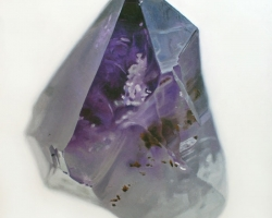 "Carly WaitoAmethyst II6 x7"" Oil on masonite 2009"