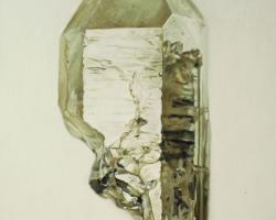 "Carly WaitoSmoky Quartz II4.5 x 6"" Oil on masonite. 2009"