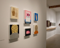 """Little Crowns"" Gallery Installation"