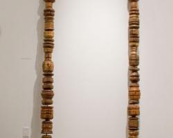 Noel MiddletonJaga's Strand16ft long. Wood, Mixed Media. 2009