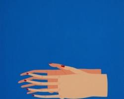 Matthew FeyldUntitled (Hands l)11 x 14 in. Acrylic on panel. 2010