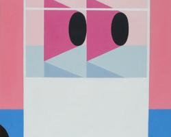 Matthew FeyldEyes in a Box11 x 14 in. Acrylic on Board. 2009