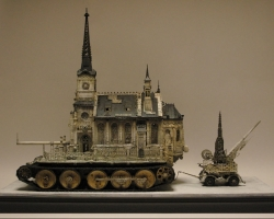 Kris KuksiChurch Tank Type 89.5 x 18 x 26 in. Mixed Media