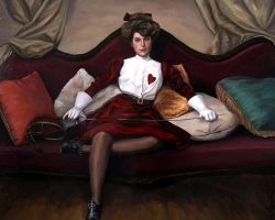 Lauchie ReidAgent Provocateur24 x 22 in. Oil on Panel