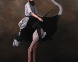Lauchie ReidChild of Honour14 x 20 in. Oil on Panel