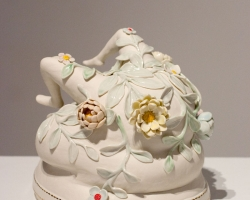 Julie MoonBridge8 x 8 x 7 in. Porcelain