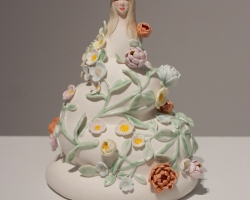 Julie MoonSlug 9 x 7 x 7 in. Porcelain. 2011