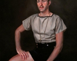 Lauchie ReidThe Libertine8 x 10 in. Oil on Panel