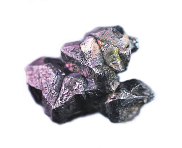 Carly WaitoBornite Coated Chalcocite11 x 9 in. Oil on Masonite 2011