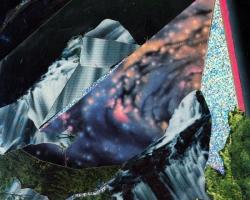 "Diana Vandermeulen Untitled I Collage on paper. 4x5"" 2012"