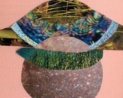 "Diana Vandermeulen Untitled III Collage on paper. 4x5"" 2012"