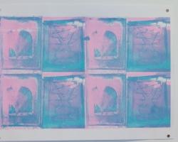 Jesgit Gill Untitled II Silkscreen on Paper 2012