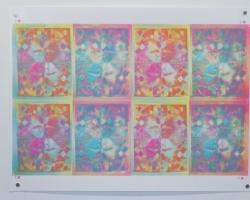 Jesgit Gill Untitled Silkscreen on Paper 2012