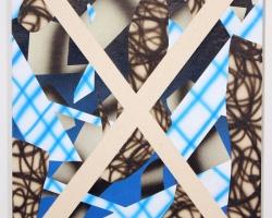 "Josh ReamesHex (No.3)12""x16"" Acrylic on canvas. 2012"