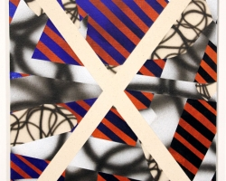 "Josh ReamesHex (No.1)12""x16"" Acrylic on canvas. 2012"