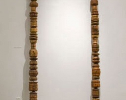Noel MiddletonJaga's Strand16 ft long. Wood, Mixed Media. 2009