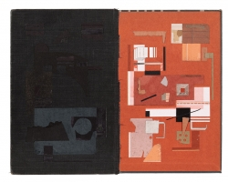 "Jacob Whibleyparameters fit sum12 x 9.25"" Paper ephemera. 2012"