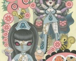 Junko MIzunoOranges16 x 20 in. Acrylic on Canvas 2012