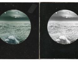"Sojourner Truth ParsonsIron Eyes Cody/ Henrietta Lacks 17.5 x 13.5"" framed. Collage on paper. 2012"