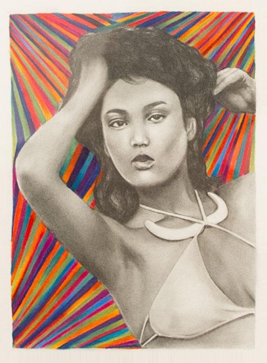 """Adrienne KammererUntitled Graphite on paper, 6 x 8"""" 2013"""