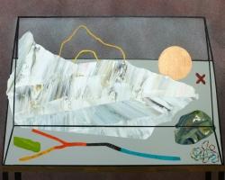 Paul WackersThe Way of the World20 x 16 in. Acrylic, spray paint on panel 2013