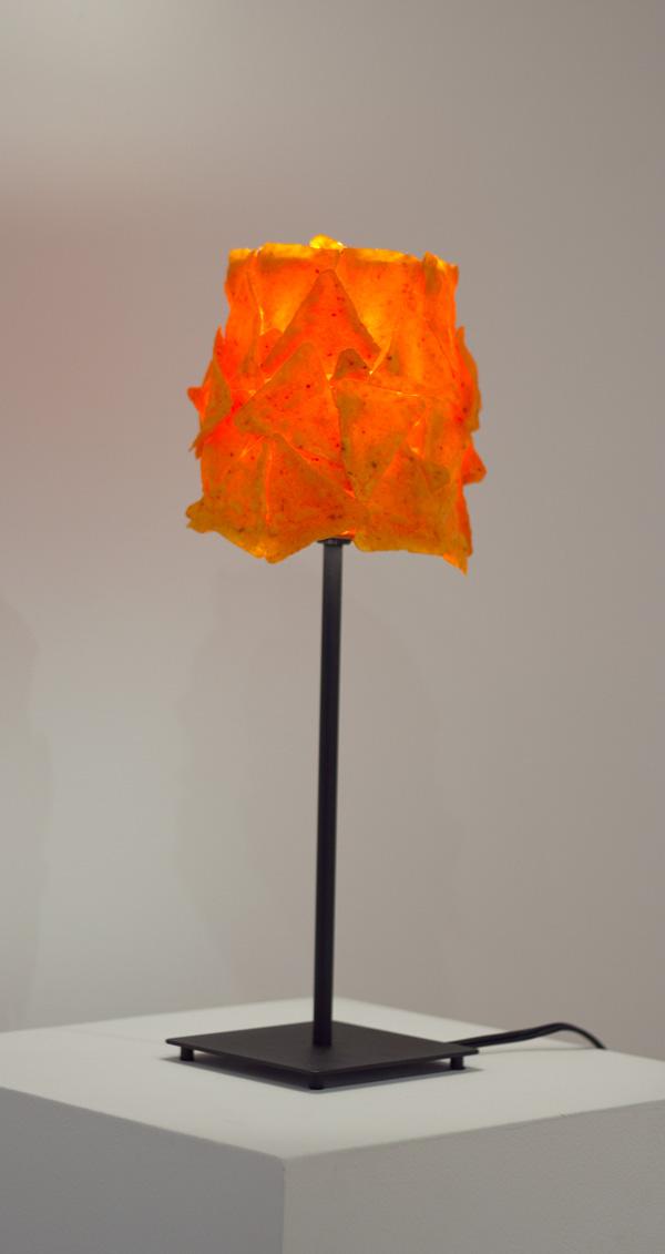 """Tibi Tibi NeuspielOil on Canvas16"""" tall, Oil paint and urethane on Hëmma 2013"""