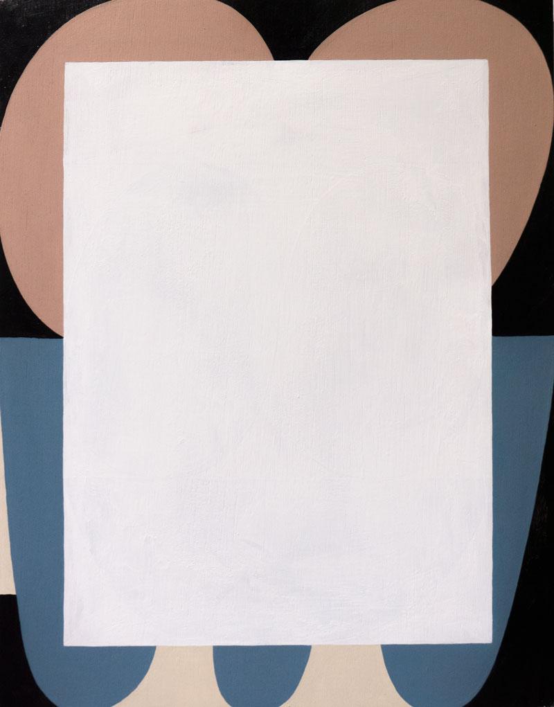 Matthew Feyld Untitled, 2014 Acrylic on board 11 x 14 in.