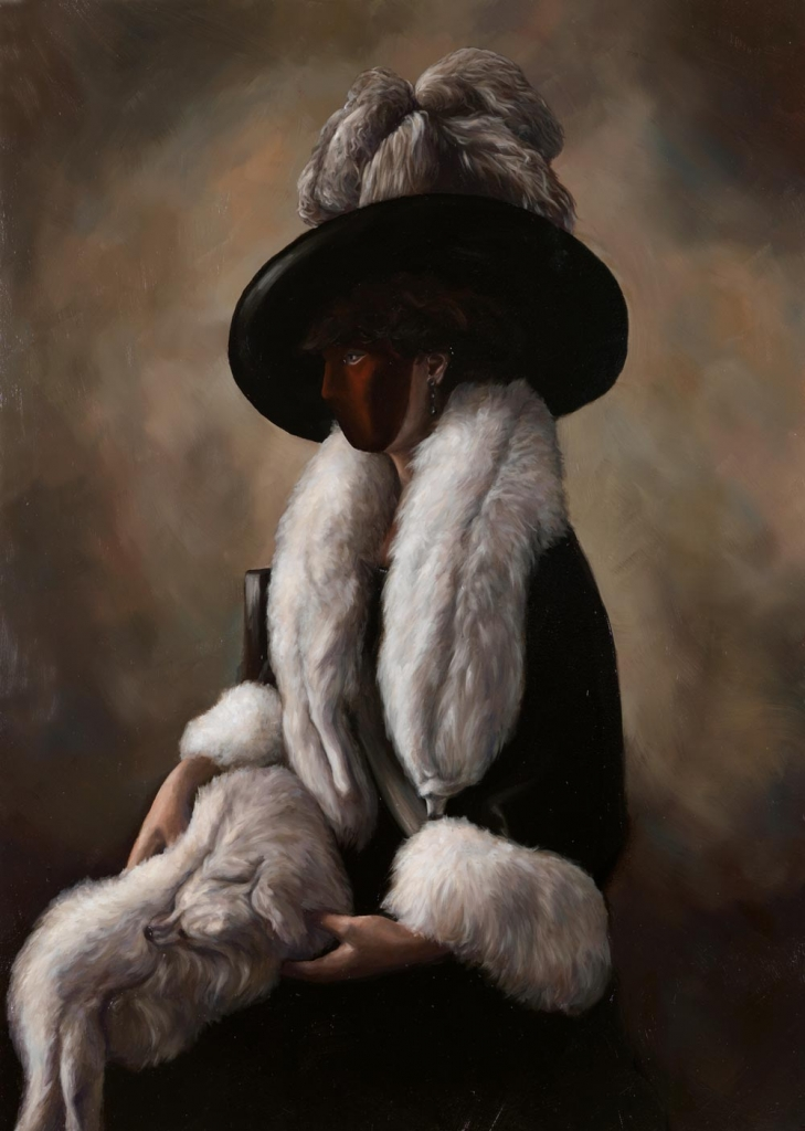 Lauchie Reid True Companions , 2014 Oil on birch panel. 15 x 21 in.