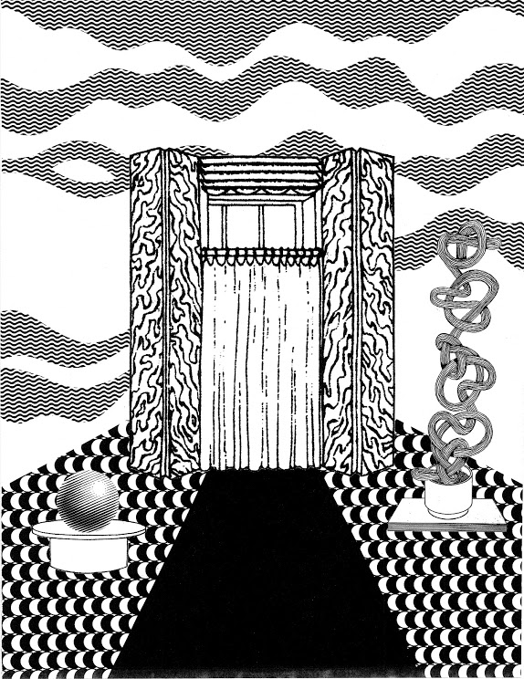 Alicia Nauta, Ghost House,  2014 Silkscreen on paper 18 x 24 in.