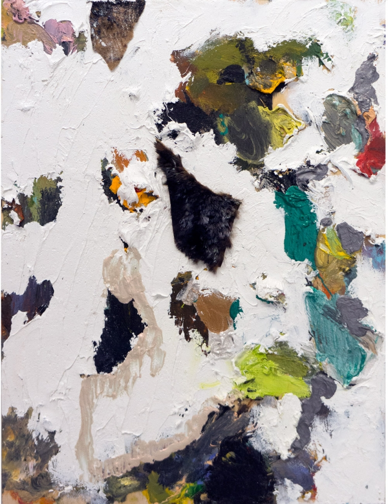 Lisa DiQuinzioOwl Painting,  2014Mixed media. 12 x 16 in.