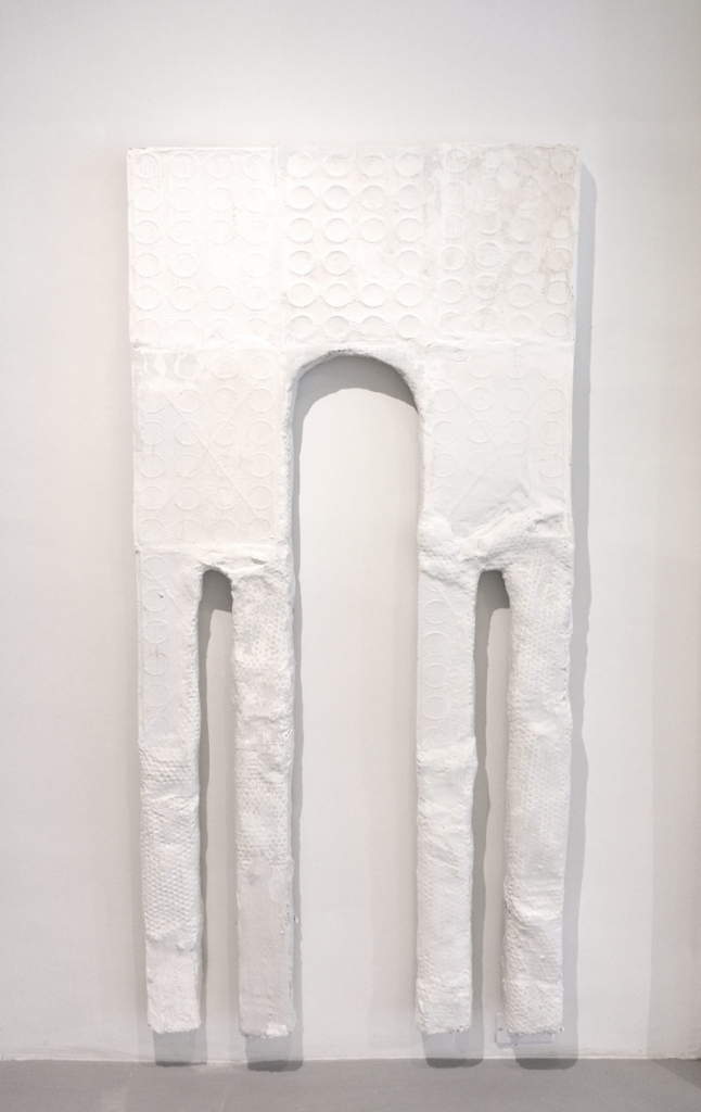 Noel Middleton Cantor Aqueduct, 2014      Steel, wood, setting compounds. 72 x 32 x 5 in.