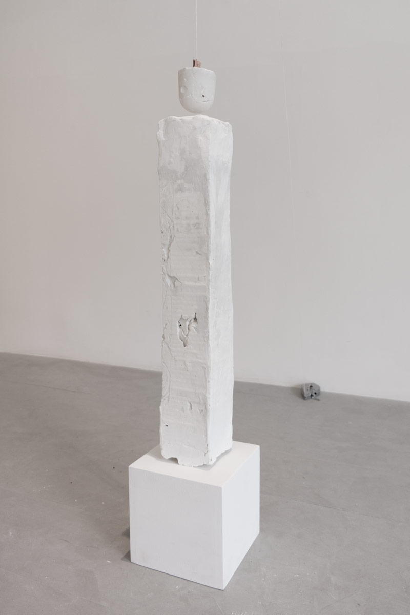 Noel Middleton Trade I Leg , 2014Steel, setting compounds. Dimensions variable.