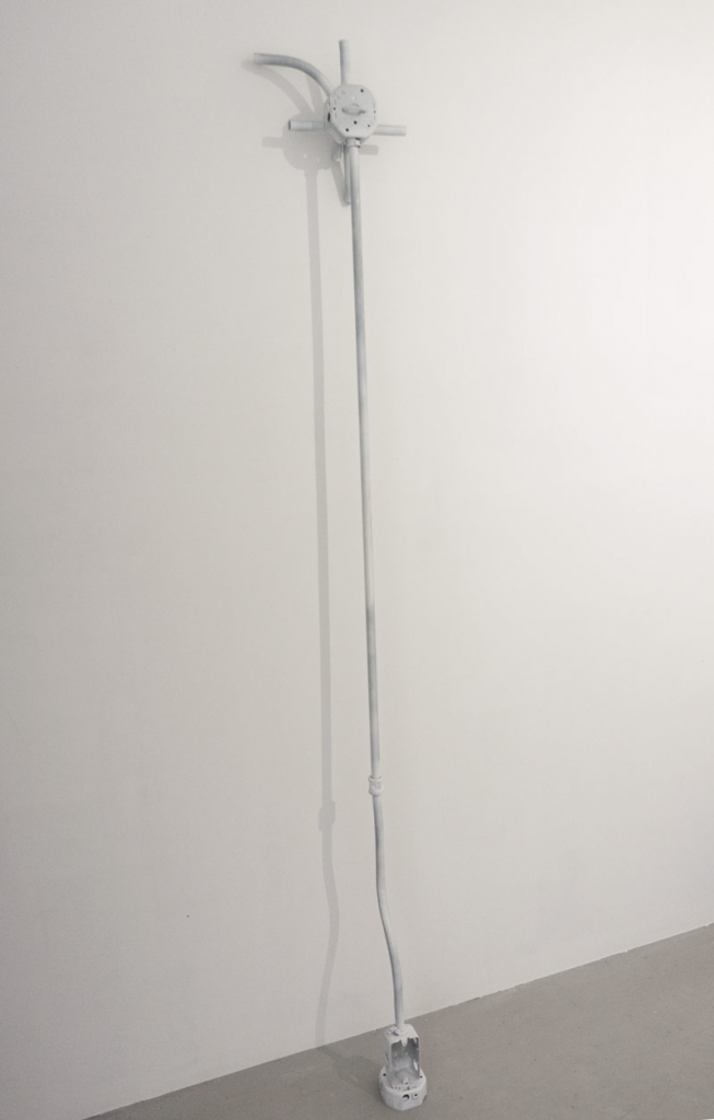 Noel Middleton Trade II Implement, 2014     Steel, enamel paint. 63 x 11 x 5 in.