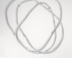 Noel Middleton Material Appendix III, 2014Steel, enamel paint. 39 x 31 x 5 in.