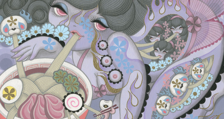 Junko Mizuno's Food Obsession II at Narwhal