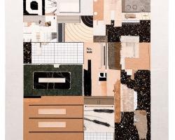 Jacob Whibleymass9 (- - -), 2014 Paper ephemera.15 x 17 in.