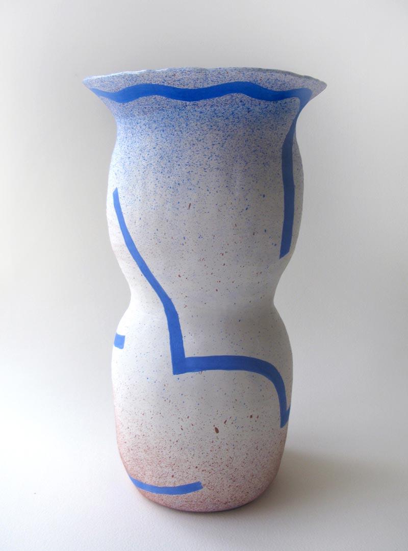 Eunice LukWormy Guy, 2015Approx. 7.5 x 7.5 x 13.5 in. Ceramic.