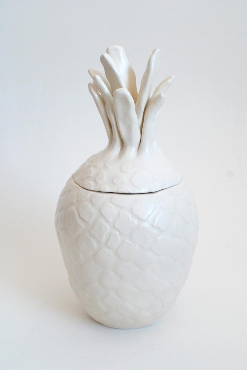 Eunice LukPart of an apple No.3, 2015Approx. 7.5 x 5 x 5 x 10 in. Ceramic.