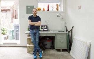 Studio Visit with Luke Painter