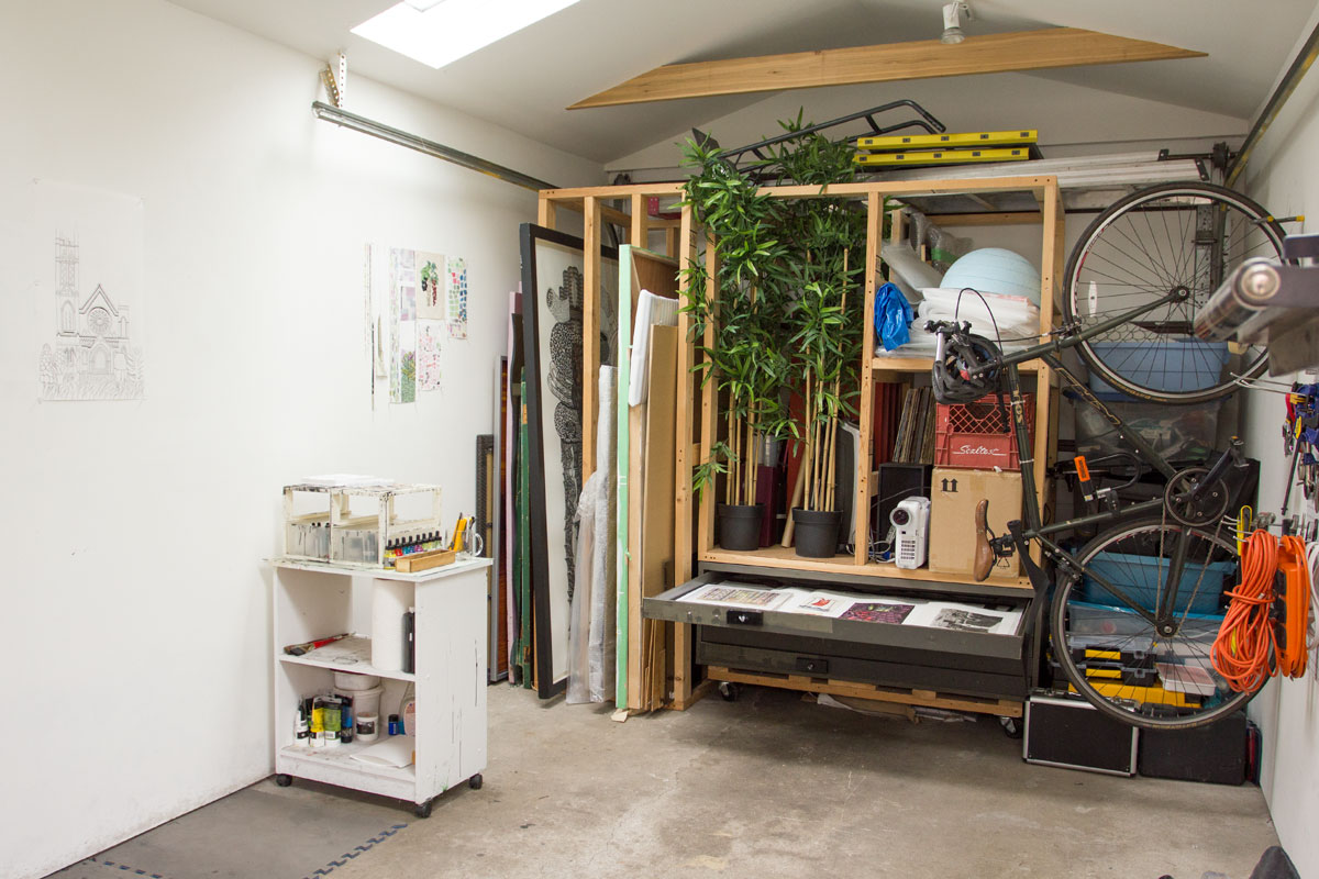 Luke Painter Studio Space