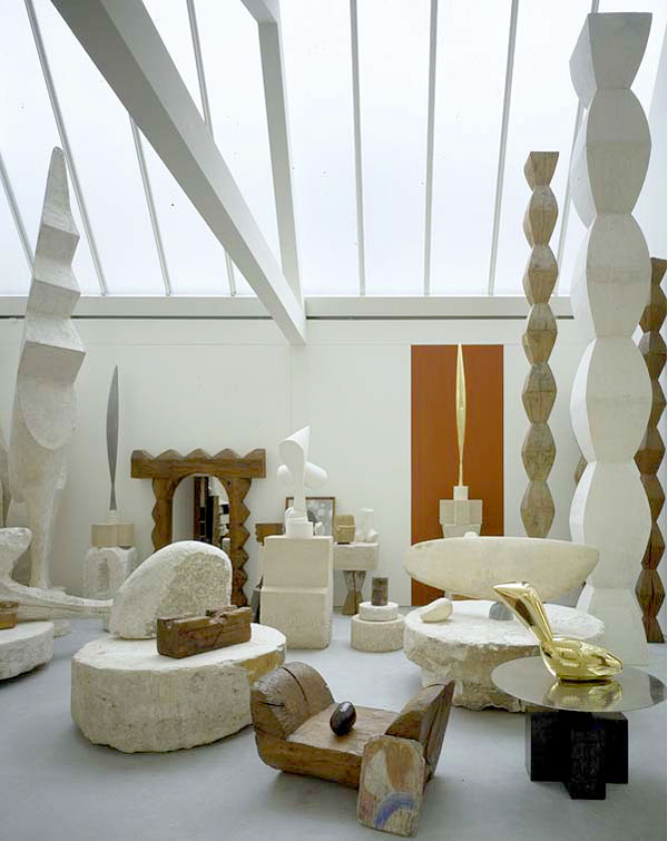 Constantin Brancusi, Musée National d'Art Moderne in Paris