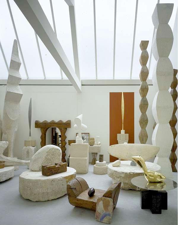 Constantin Brancusi, Musée National d'Art Moderne in Paris