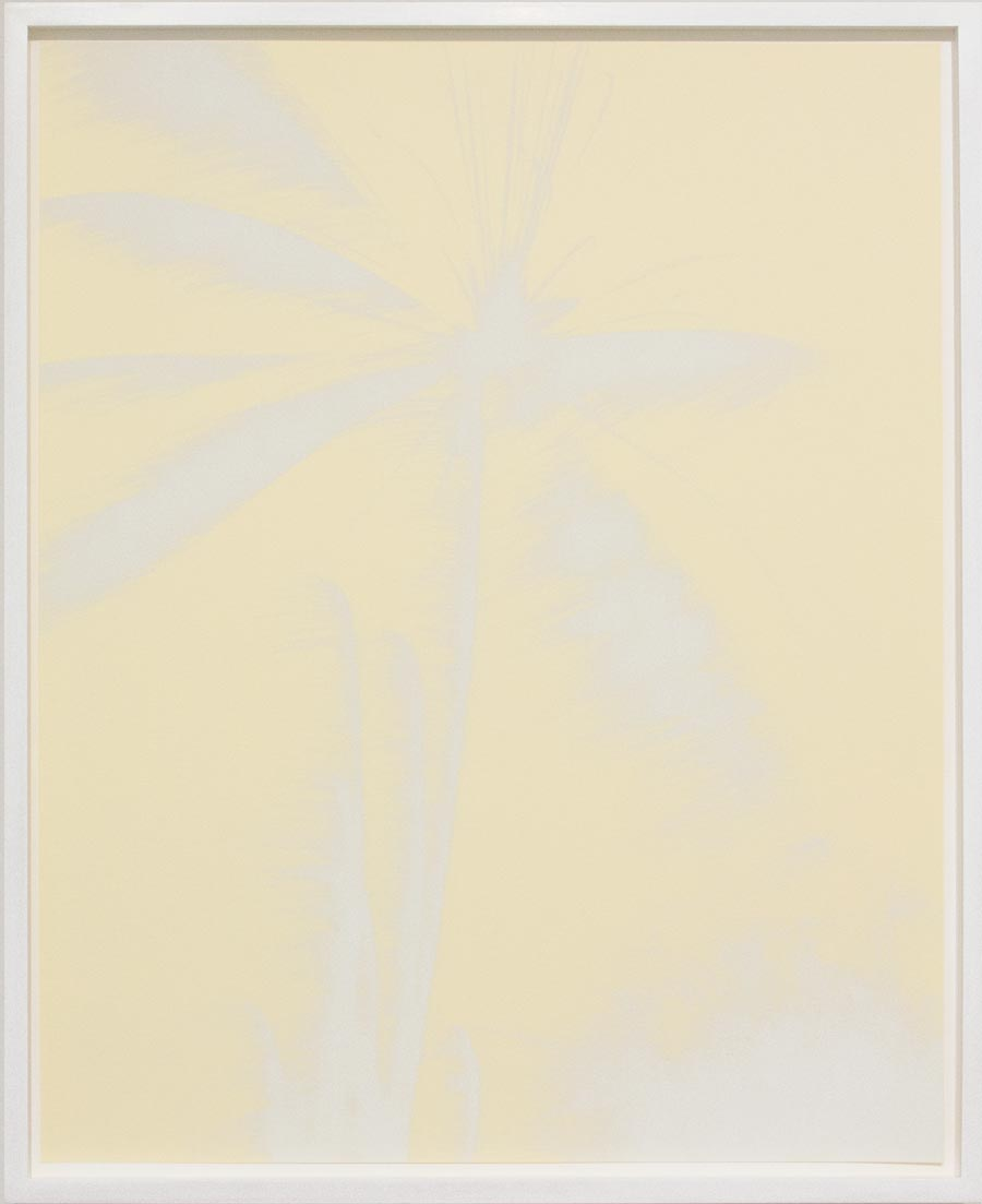 Josh ThorpeFireworks (silver and cream), 201517 x 22 in. Screen print, edition of 6.