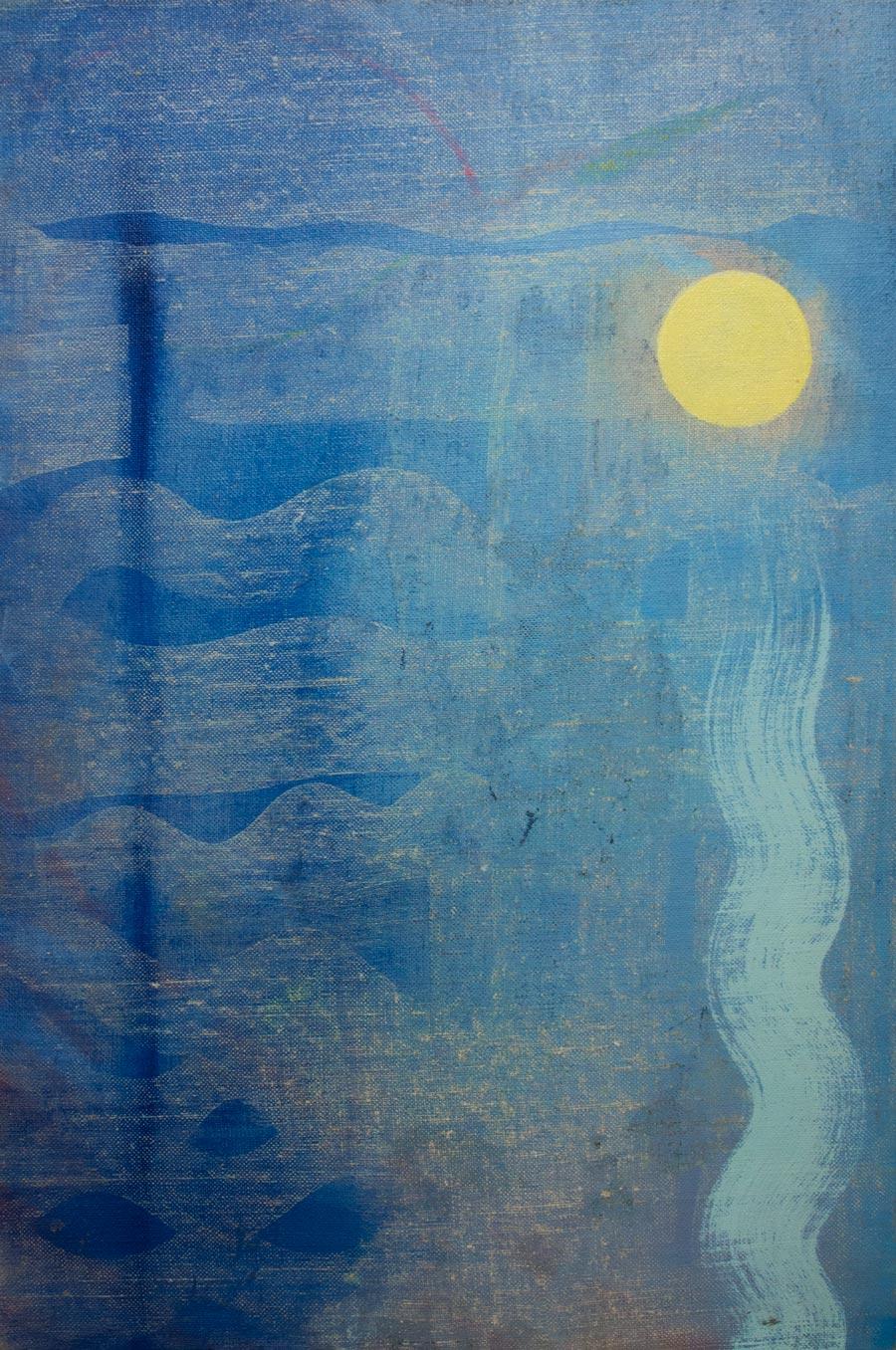 Paul HardyLipper, 201416 x 24 in. unframed. Oil on linen.