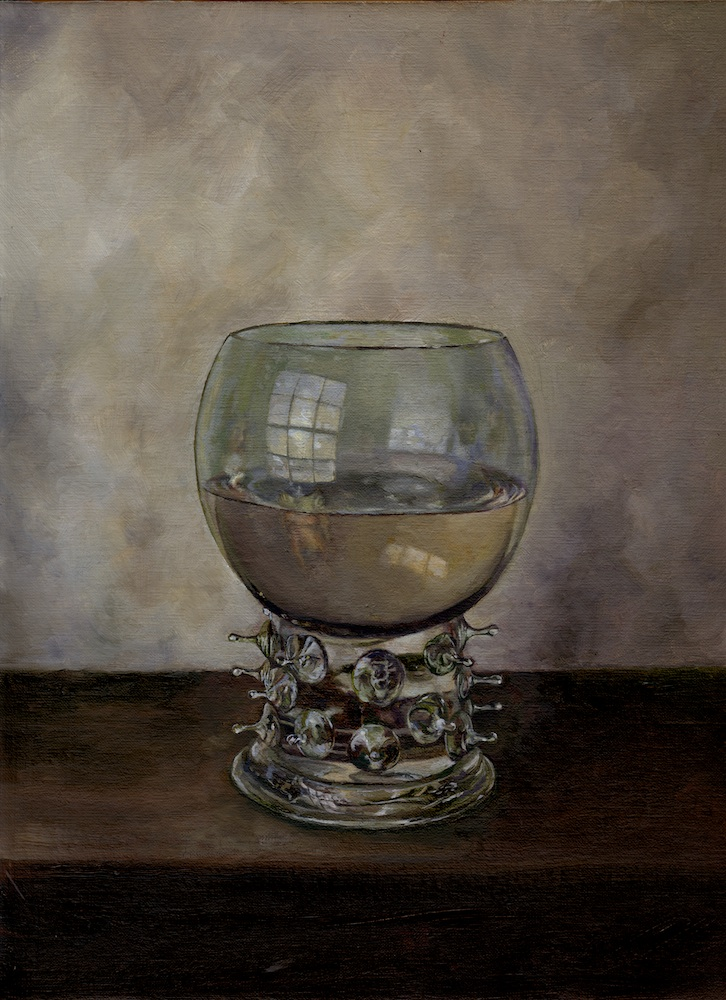 Lauchie ReidOchtend Achteraf, 2015Oil on mounted linen. 8.75 x 11.75 in. unframed, 11.5 x 14.5 in. framed.