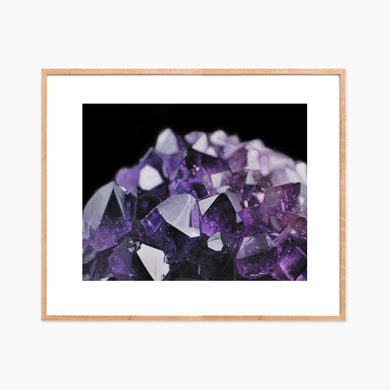 Amethyst MountainArchival ink on Somerset archival paper. Signed & numbered edition of 75 16 x 20