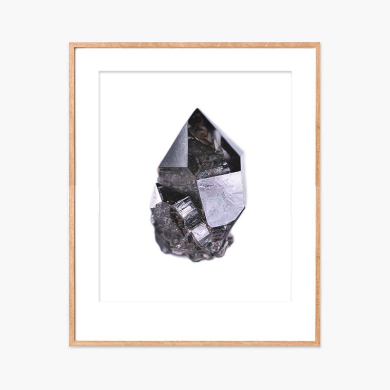 Smoky Quartz with InclusionsArchival ink on Somerset archival paper. Signed & numbered edition of 75 16 x 20